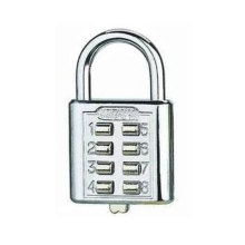 Zinc Alloy Electroplate Combination Button Type Padlock